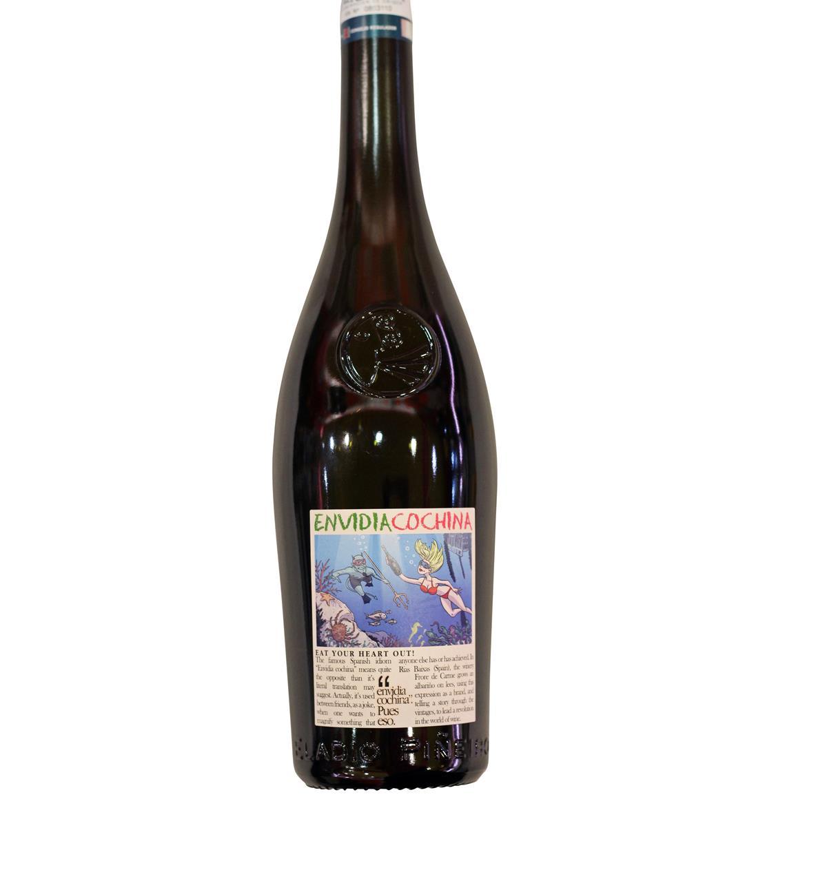 Comprar vino Envidia Cochina 2019 albarino rias baixas